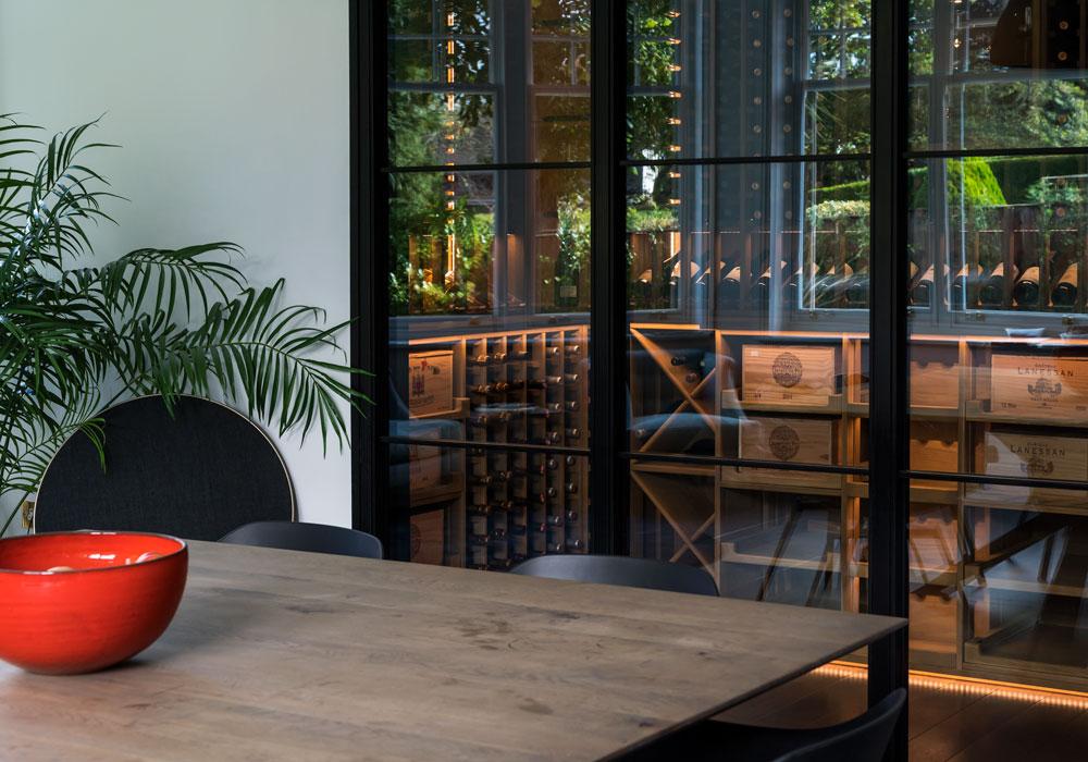 case study - refurbishment, wine room 2