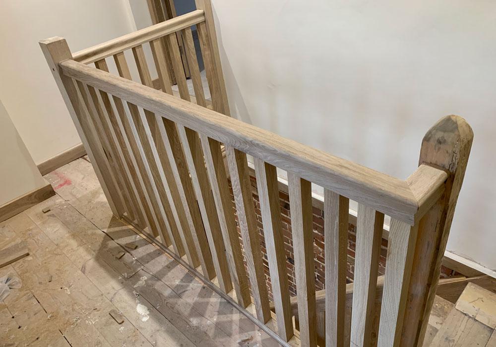 property refurbishment, Norfolk - staircase