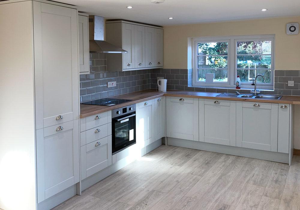 property refurbishment, Norfolk - kitchen